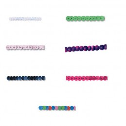 6mm Strung Curved Sequins Flat Trimits String