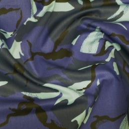 Urban Camouflage 100% Cotton Drill Fabric