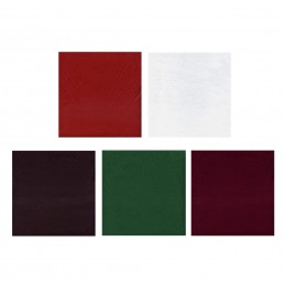 3mm Extra Thick Acrylic Craft Felt Fabric 23 x 30cm Pack Of Two