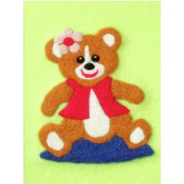 Orchidea DIY Felt By Numbers Picture Making Craft Kit