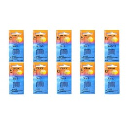 Pony Straw Gold Eye Sewing Needles 10 Pack Craft Knitting