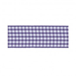 25mm Berisfords Check Gingham Ribbon Polyester Craft