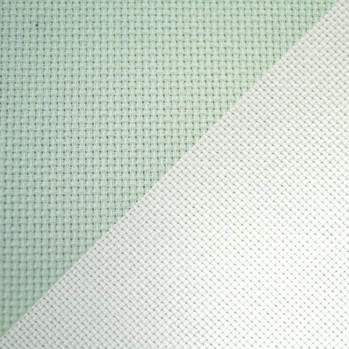 14 H.P.I Polyester Aida Cross Stitch Fabric Grid
