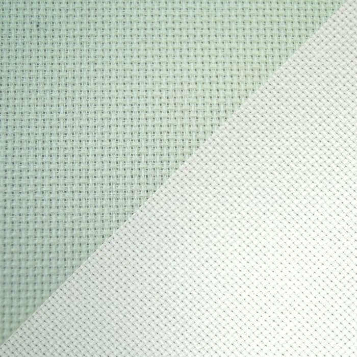 14 H.P.I Polyester Aida Cross Stitch Fabric Grid