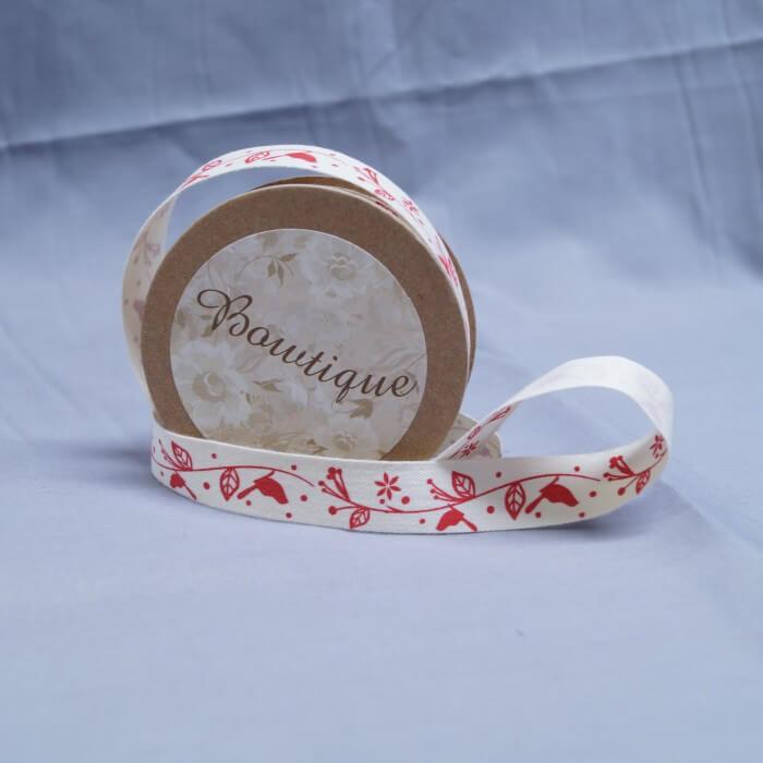 Bowtique Natural Vintage Cotton Russian Dolls Ribbon 15mm x 5m Reel