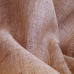 "Hessian 10oz 100% Jute Natural Sacking 60""/150cm Wide Fabric"