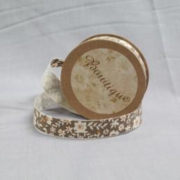 Bowtique Vintage Cotton Flower Vine Ribbon 15mm x 5m Reel