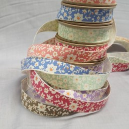 Bowtique Vintage Cotton Flower Vine Ribbon 15mm x 5m Reel