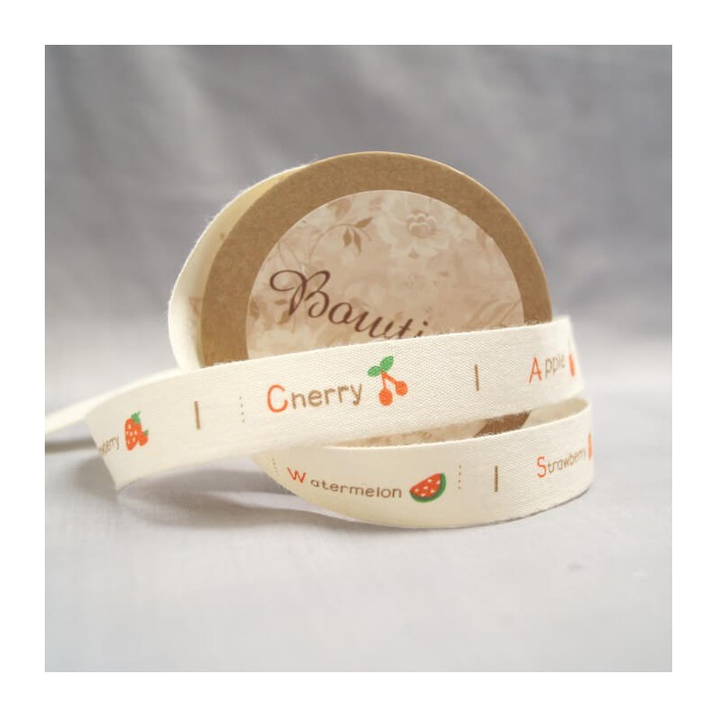 Bowtique Natural Handmade With Love Ribbon 15mm x 5m Reel
