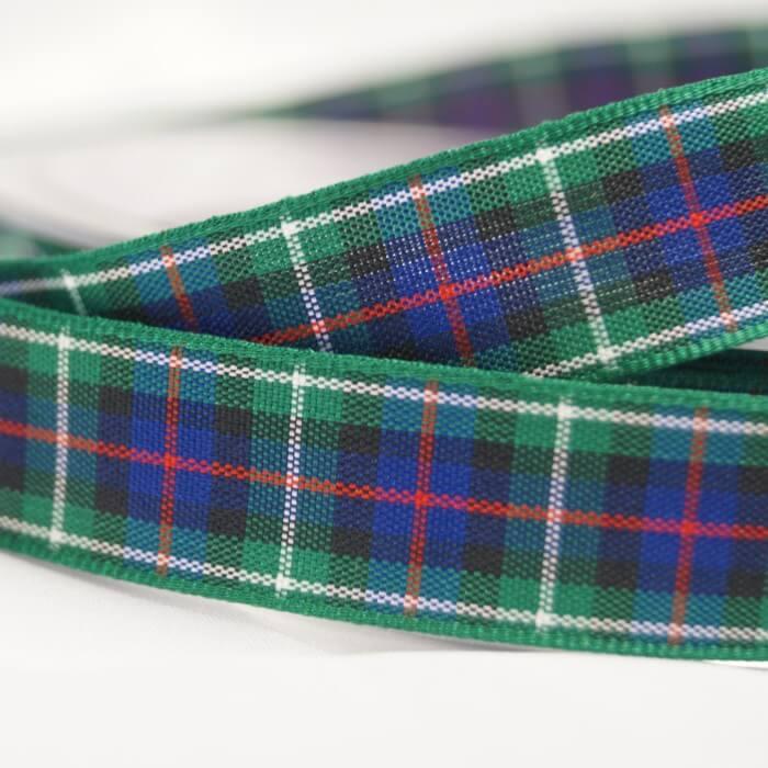 5 Metres Berisfords Mackenzie Scottish Woven Tartan Ribbon 7mm - 40mm