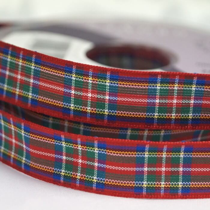 5 Metres Berisfords Royal Stewart Scottish Woven Tartan Ribbon 7mm - 70mm