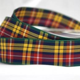 Berisfords Buchanan Scottish Woven Tartan Ribbon 7mm - 70mm