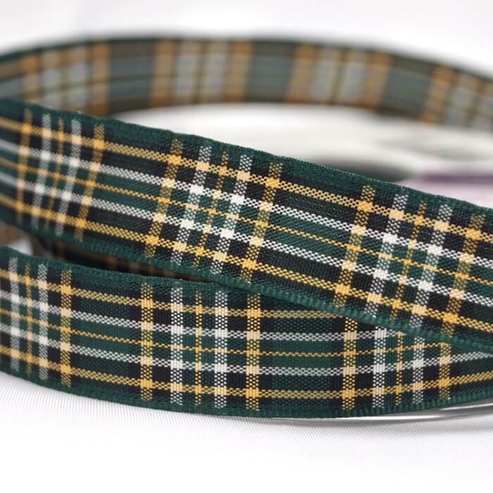 Berisfords Irish National Scottish Woven Tartan Ribbon 7mm - 40mm
