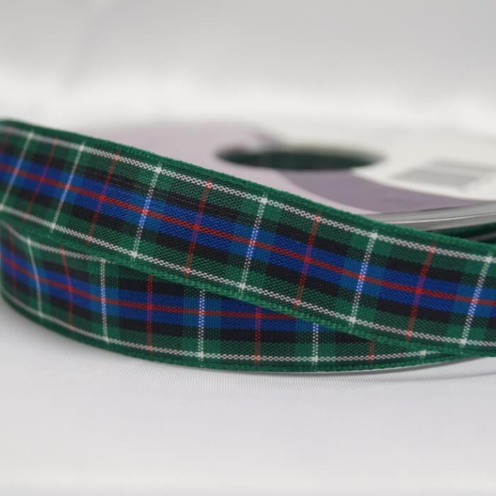 Berisfords Frazer Scottish Woven Tartan Ribbon 7mm - 70mm