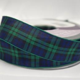Berisfords Black Watch Scottish Woven Tartan Ribbon 7mm - 70mm