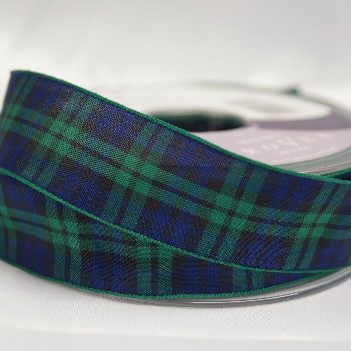 Berisfords Dress Stewart Scottish Woven Tartan Ribbon 7mm - 70mm