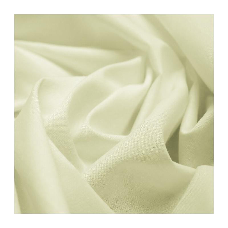 Cream Curtain Lining Polycotton Fabric 135cm Wide