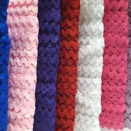 5m x 8mm Polyester Ric Rac Braid Essential Trimmings Zig Zag Ribbon
