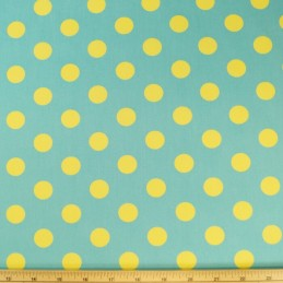17mm Polka Dots Spots 100% Cotton Fabric