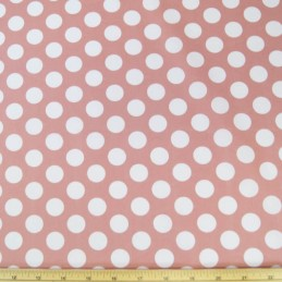 19mm Polka Dots Spots 100% Cotton Fabric