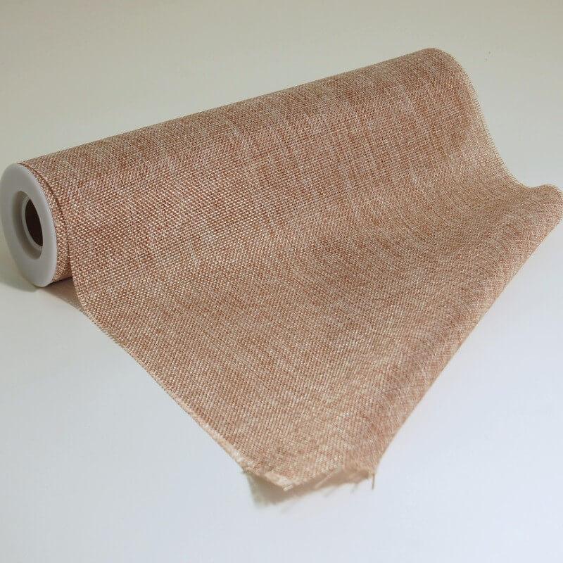 30cm x 5m Jute Hessian Burlap Natural Sack Rolls