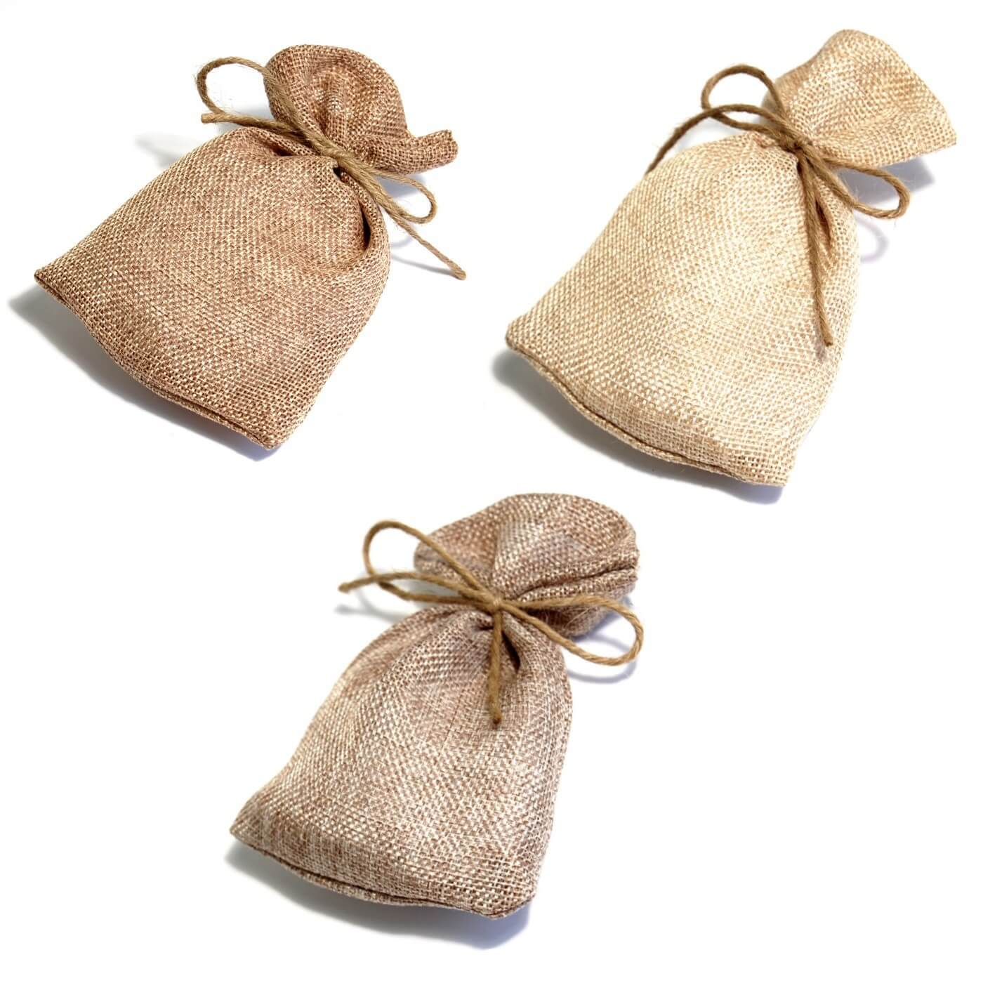 Natural Hessian Natural Wedding Party Favor Bags Burlap/Jute Decorations