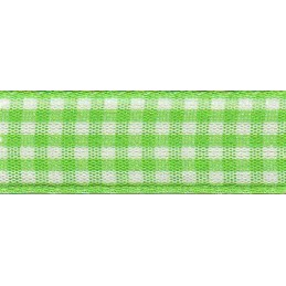 10mm Berisfords Check Gingham Polyester Craft Ribbon