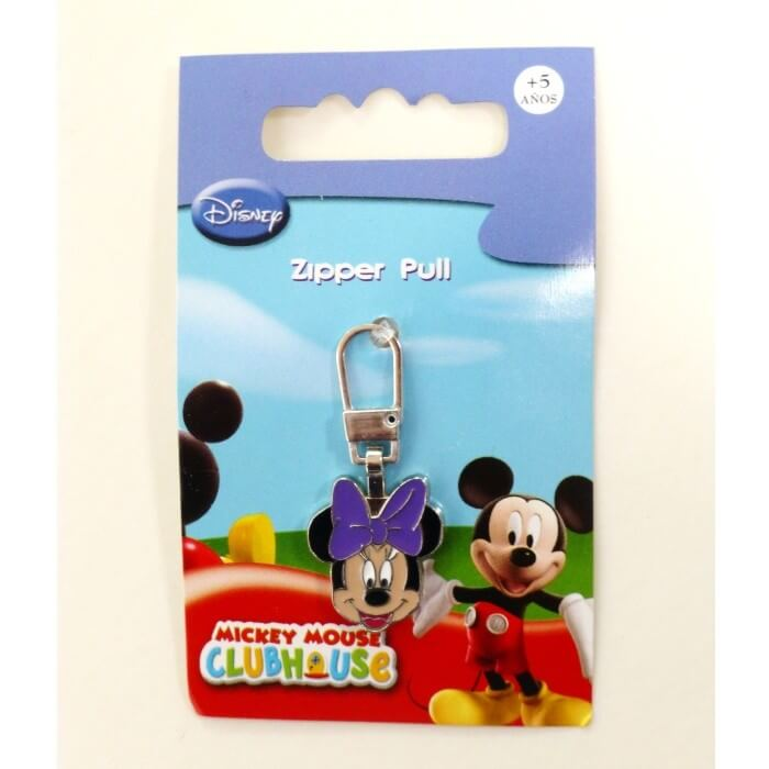 Minnie Mouse Zipper Pull