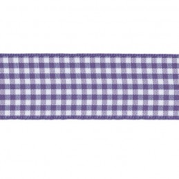 15mm Berisfords Check Gingham Ribbon Craft