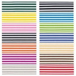 9mm x 2m, 5m or 20m Berisfords Pencil Stripes Polyester Craft Ribbon
