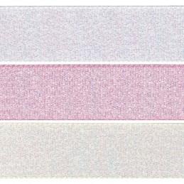 7mm x 2m, 5m or 20m Berisfords Dazzle Polyester Craft Ribbon