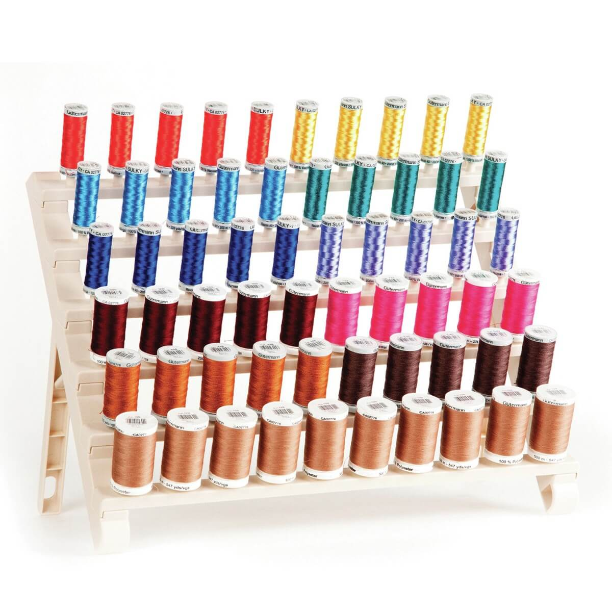 Premium 60 Spool Thread Organizer Storage Rack