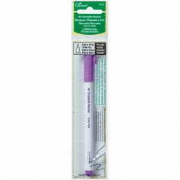 Clover Air Erasable Marker Pen - Extra Fine - Purple