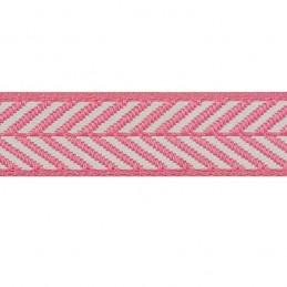 10mm Berisfords Woven Herringbone Pattern Ribbon Bows Ties Gift Wrapping