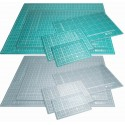 Cutting Mat Double-sided Self Healing Imperial/Metric Choice Size & Transparent
