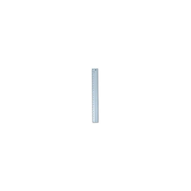 Impex Non-Slip Aluminium Craft Ruler 30cm