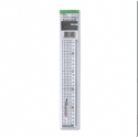 Impex Aluminium Ruler: Stainless Steel Edge - 30cm