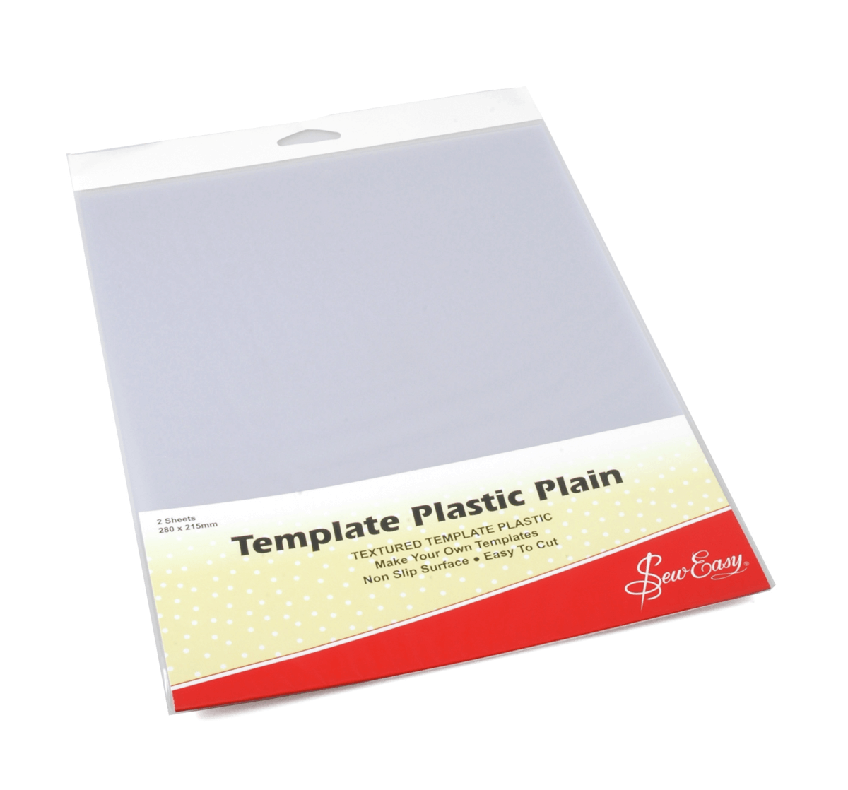 Sew Easy Plain Template Maker Plastic Easy Cut & Shape