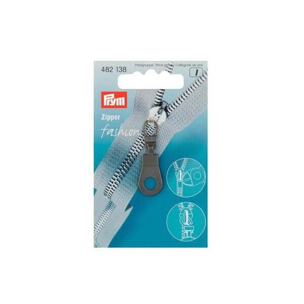 Prym Fashion Zip Puller Eyelet Coat / Jacket Zipper Pull (138)