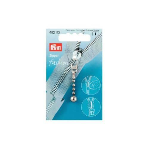 Prym Fashion Zip Puller Ball Chain Coat / Jacket Zipper Pull