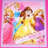 Disney I Am A Princess Sparkle Floral 112cm x 90cm 100% Cotton Fabric