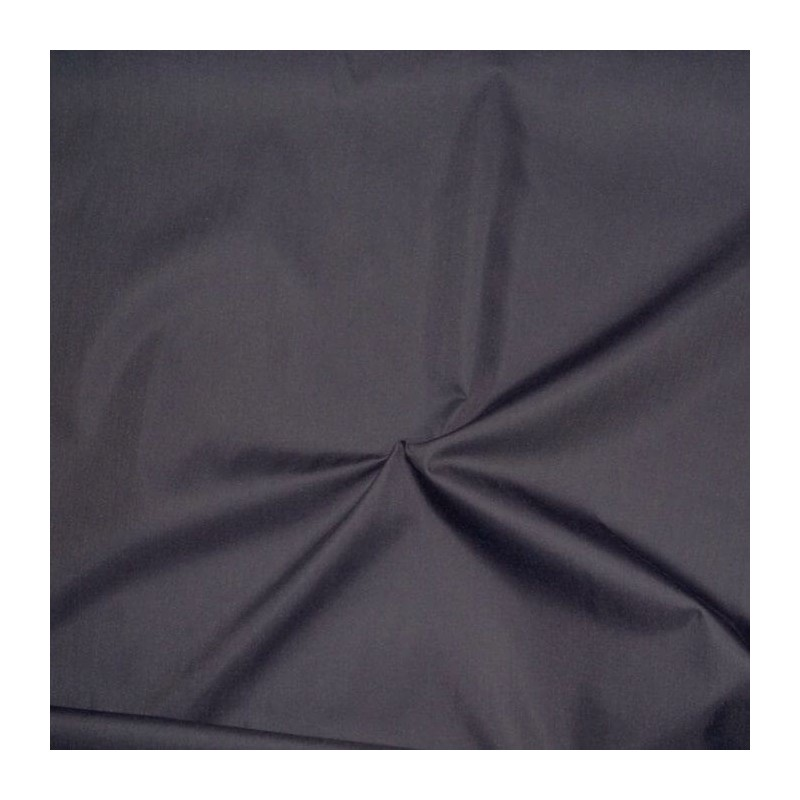 Black 3 Pass Blackout Curtain Lining Fabric