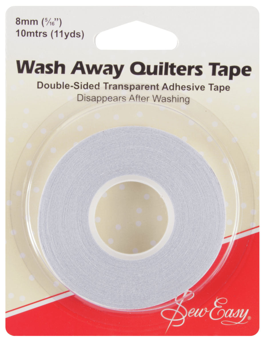 10 Metres 8mm Sew Easy Wash Away Quilters Tape Quilting Patchwork