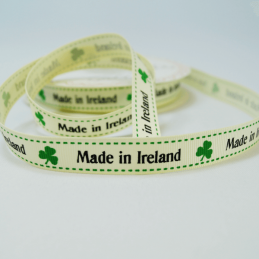 16mm Made In Ireland Bertie's Bows Grosgrain Heart Craft Ribbon