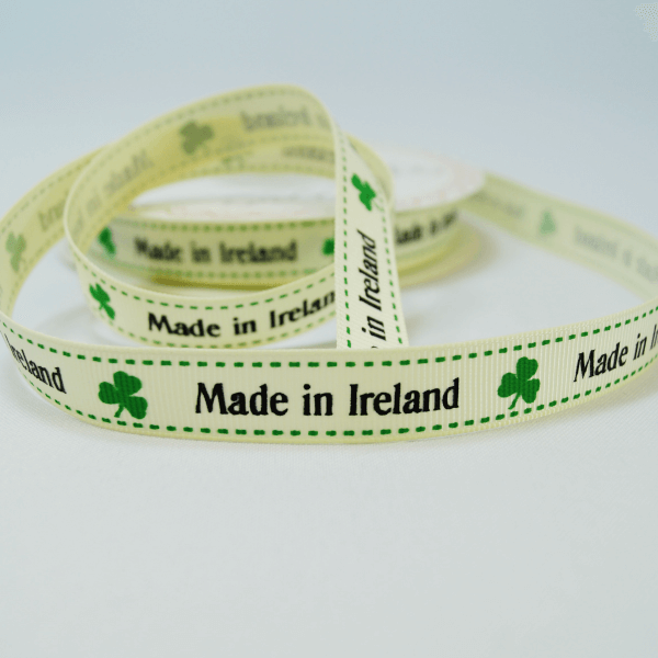 16mm Made In Ireland Bertie's Bows Grosgrain Heart Craft Ribbon