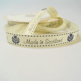 16mm Made In Scotland Bertie's Bows Grosgrain Heart Craft Ribbon