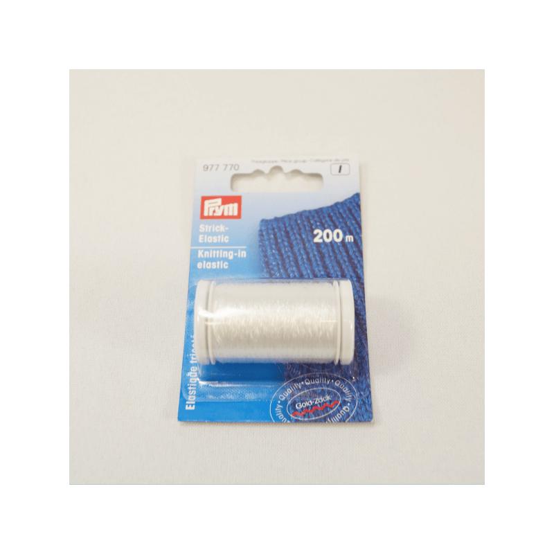 200m Prym Knitting In Invisible Thread Elastic Crochet