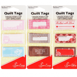 Sew Easy Dressmakers Quilt Tags Decorative Craft