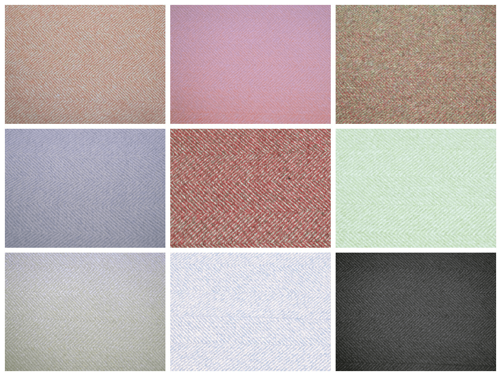 Light Pink Herringbone Tweed Wool Effect Fabric Upholstery