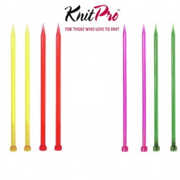KnitPro Trendz Single Pointed Knitting Pins Needles 25cm